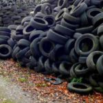 Stacked Tyres
